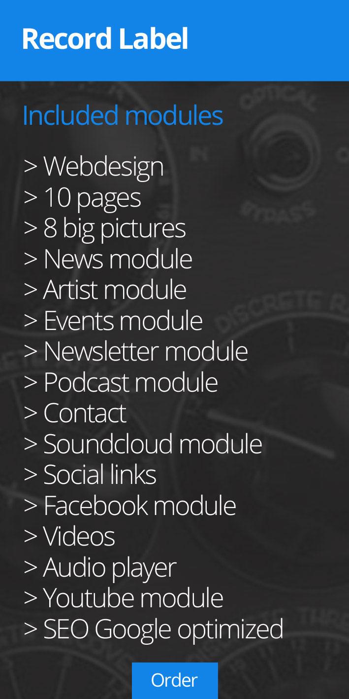 Music Web Designer » RECORD LABEL
